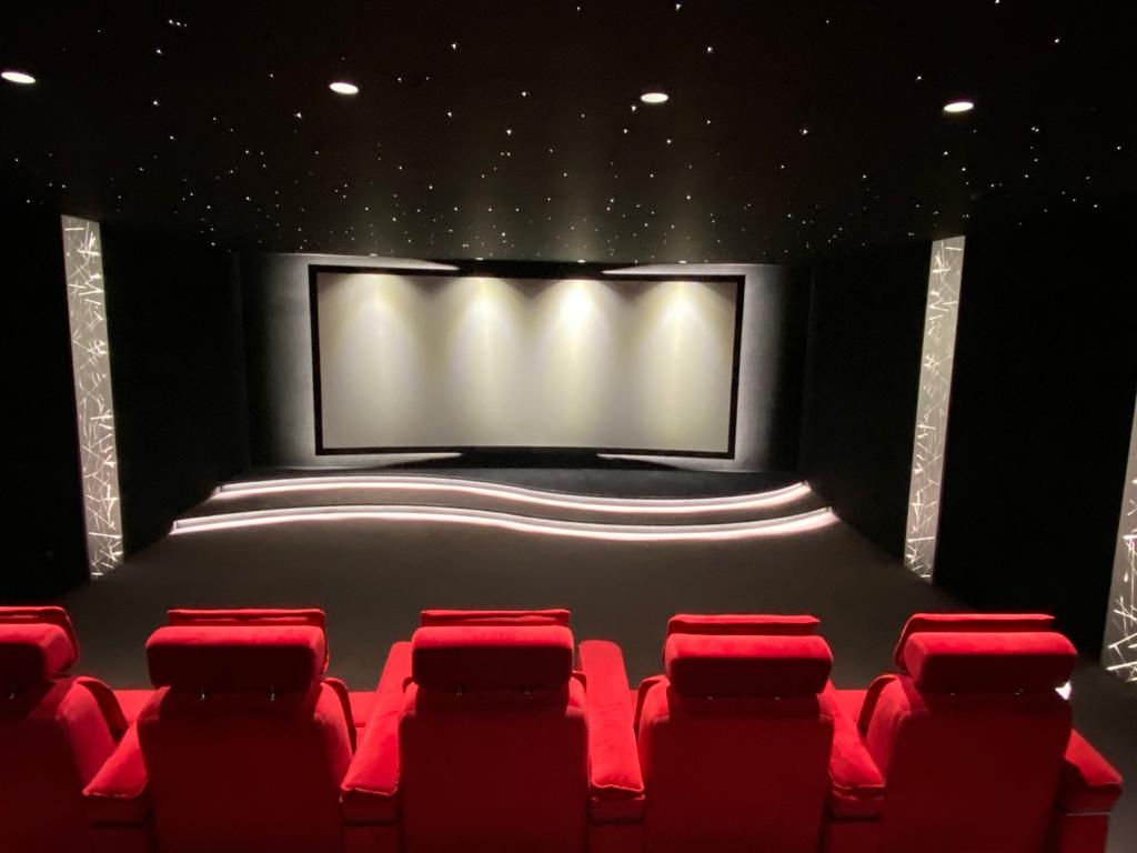 Sala de cinema privada